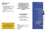 Broschüre UK Essen Lymphödem - Universitätsklinikum Essen