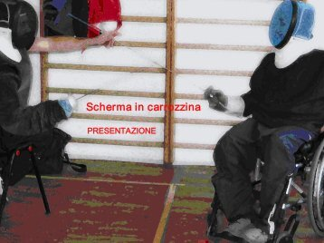 Scherma in carrozzina - Torna all'home page