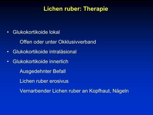 Lichen ruber: Definition
