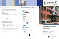 2. Fortbildungsforum Rhein-Ruhr - Universitätsklinikum Essen