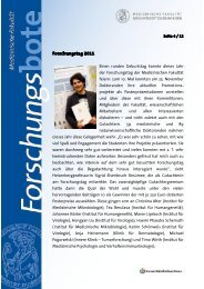 Forschungstag 2011 - Universitätsklinikum Essen