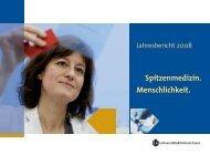 Jahresbericht 2008 - Universitätsklinikum Essen