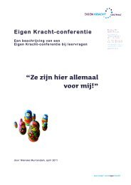 EK-conferentie bij leervragen - hetkind