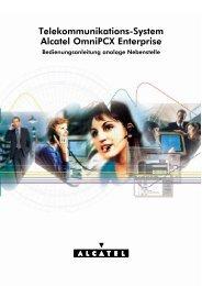 Telekommunikations-System Alcatel OmniPCX Enterprise