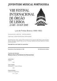 Luís de Freitas Branco (1890-1955) - Juventude Musical Portuguesa