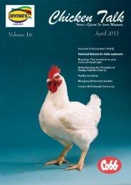 Chicken Talk April 2011 FIRST... - Irvines' Home