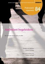 Ambulant begeleiders - Kortlopend Onderwijsonderzoek
