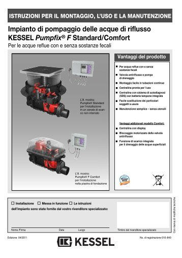 Impianto di pompaggio delle acque di riflusso KESSEL Pumpfix® F ...
