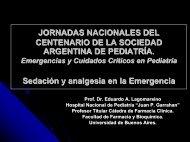 Farm. Eduardo Lagomarsino - Sociedad Argentina de Pediatría