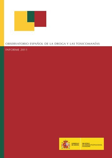Informe 2011 - Plan Nacional sobre drogas
