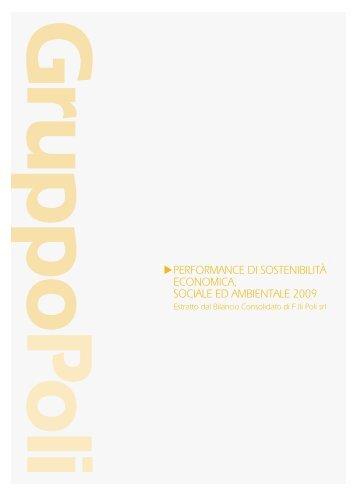 Relazione di Gestione 2009[scarica] - Il Gruppo Poli