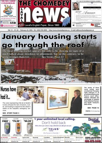 January housing starts go through the roof - Laval News