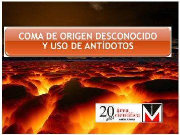 COMA toxico.pptx - Urgencias Donostia