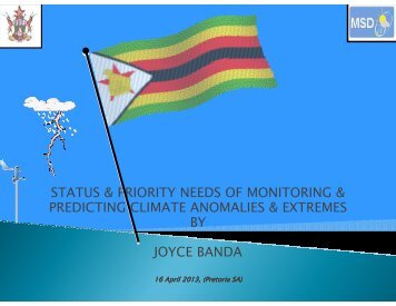 Zimbabwe - WMO