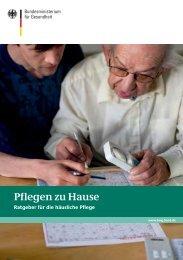 Pflegen zu Hause - Pflege-Versicherung.de
