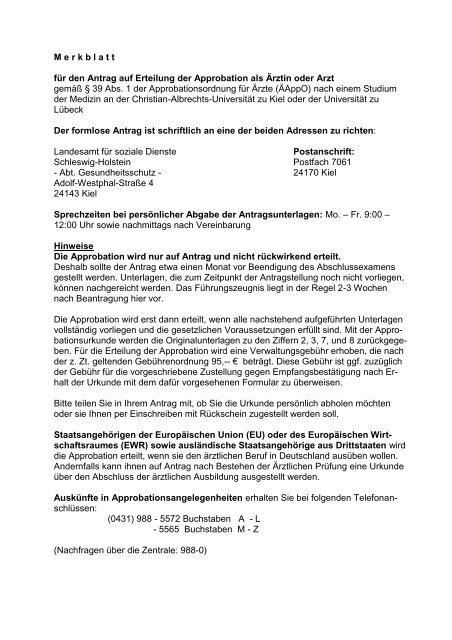 Landesamt für soziale dienste schleswig-holstein