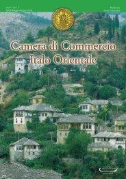 Fiere in ITALIA - Camera di Commercio Italo Orientale