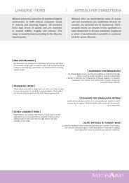 LINGERIE ITEMS ARTICOLI PER CORSETTERIA - Coatscrafts.sk