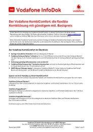 InfoDok 448: Neu! Der Vodafone KombiComfort: Die flexible ...