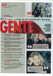 Gente_7 febbraio 2011 - A.gi.di.