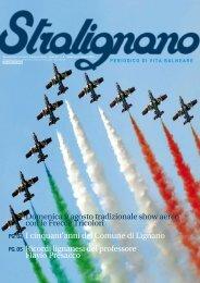 Domenica 9 agosto tradizionale show aereo con le Frecce Tricolori ...