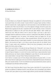 Scheda spettacolo - Biblioteca del Consiglio Regionale della Puglia