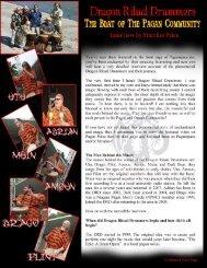 Download the PDF - Dragon Ritual Drummers