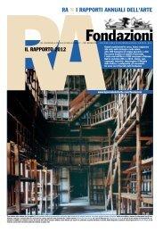 ra i rapporti annuali dell'arte - The European Foundation Centre
