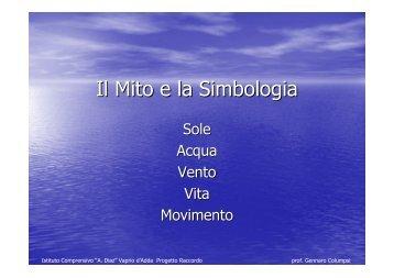 Il Mito e la Simbologia - Icdiazvaprio.It