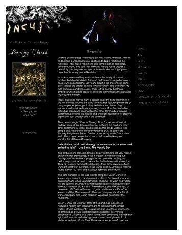 Incus Biography