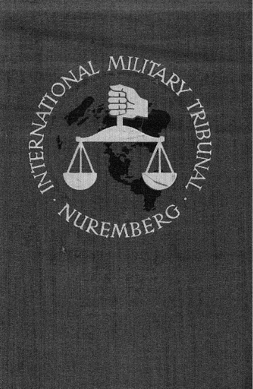 Trial of the Major War Criminals before International Military Tribunal ...