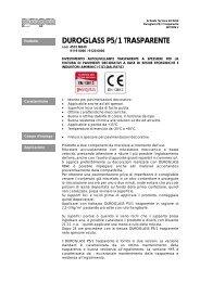 DUROGLASS P5/1 TRASPARENTE - mpm