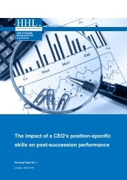 skills on post-succession performance The impact of a CEO's ...