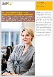 SAP Business One - IT PEAK-Networks GmbH