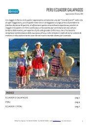 PERU ECUADOR GALAPAGOS - Travel Operator Book