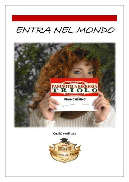Prospetto Informativo Triolo Paninoteca Birreria