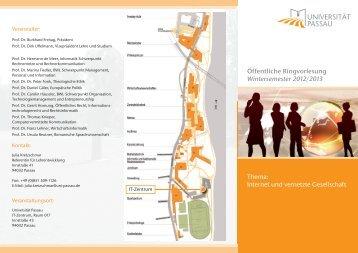 Das vollständige Programm mit weiteren Informationen im Überblick