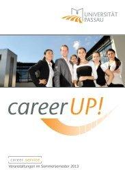 career service - Universität Passau