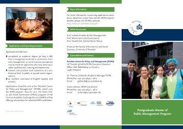 MPM flyer