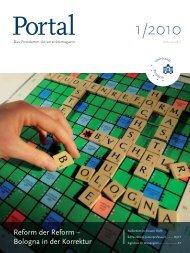 Portal 1/2010 - Universität Potsdam