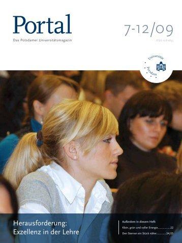 Portal 7-12/09 - Universität Potsdam
