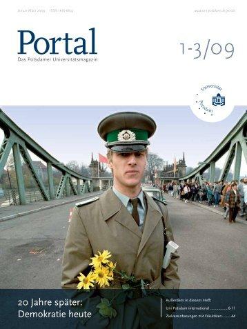 Portal 1-3/09 - Universität Potsdam