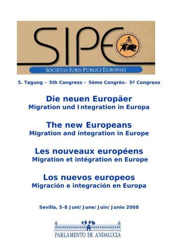 Die neuen Europäer The new Europeans Les nouveaux européens ...