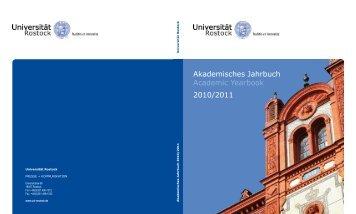 Akademisches Jahrbuch Academic Yearbook 2010/2011