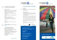 Der Faktor Mensch - Universität Rostock