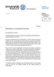 Business Bahncard - Universität Rostock