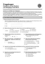 Fragebogen - Universität Rostock