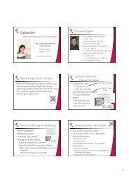Download der Vortragsmaterialien
