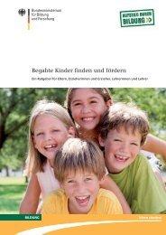 Begabte Kinder finden und fördern - Universität Rostock