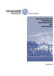 informationen für - Universität Rostock